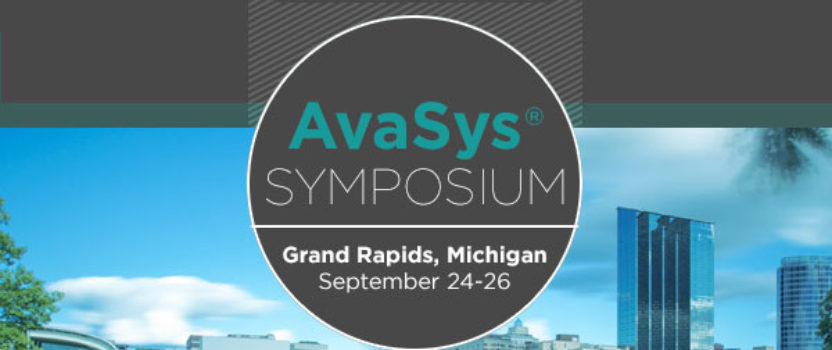 First AvaSys Symposium Scheduled for September 2017