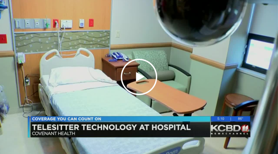 Covenant Health in Lubbock has new video technology to help keep an eye on patients