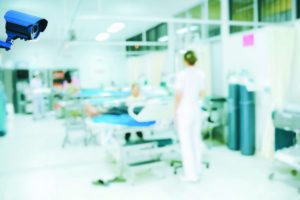 Video surveillance and nursing workforce safety