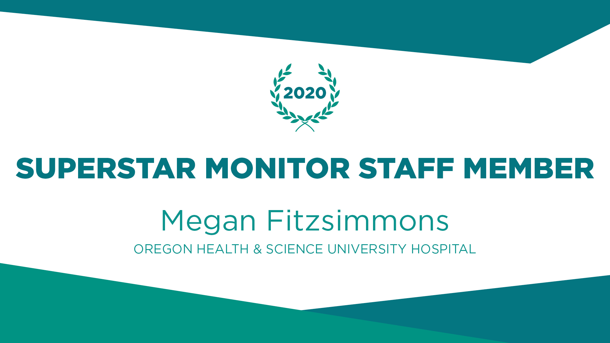 AvaSure Recognizes Oregon Health and Science University Hospital's Megan Fitzsimmons for Measuring Success, Upholding Effective Use of Technology